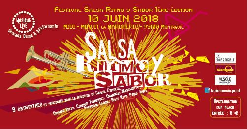 Le Festival «Salsa, Ritmo Y Sabor» est maintenant en ligne !