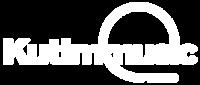 Kutimmusic: logo blanc pied